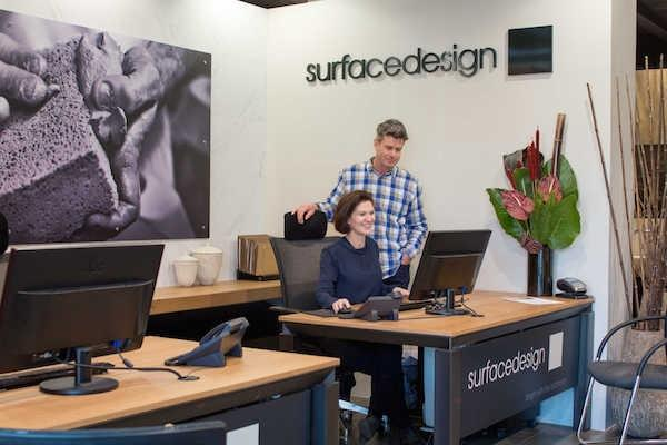 surface design showroom
